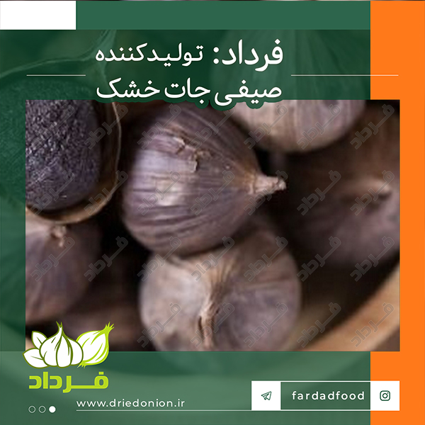 خرید اینترنتی انواع سیر سیاه در ایران