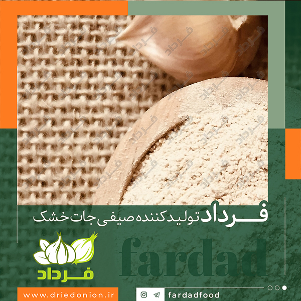 خرید مستقیم از کارخانه تولید پودر سیر